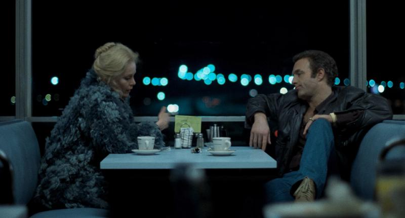 The diner scene, in Thief 1981