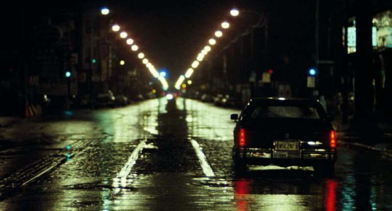 Chicago rain soaked streets, in Thief 1981