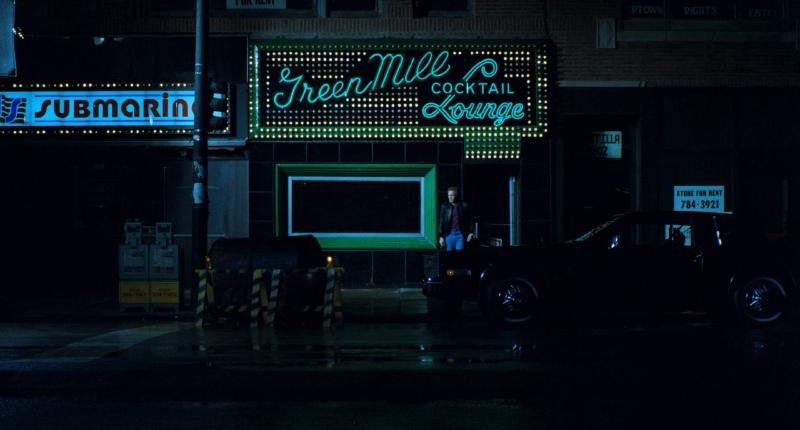 Neon signs, in Thief 1981